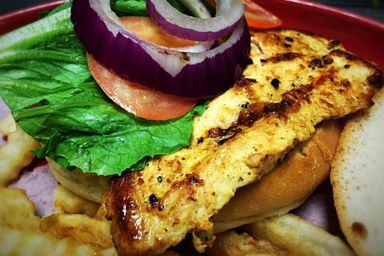 Grill Chicken Sandwich
