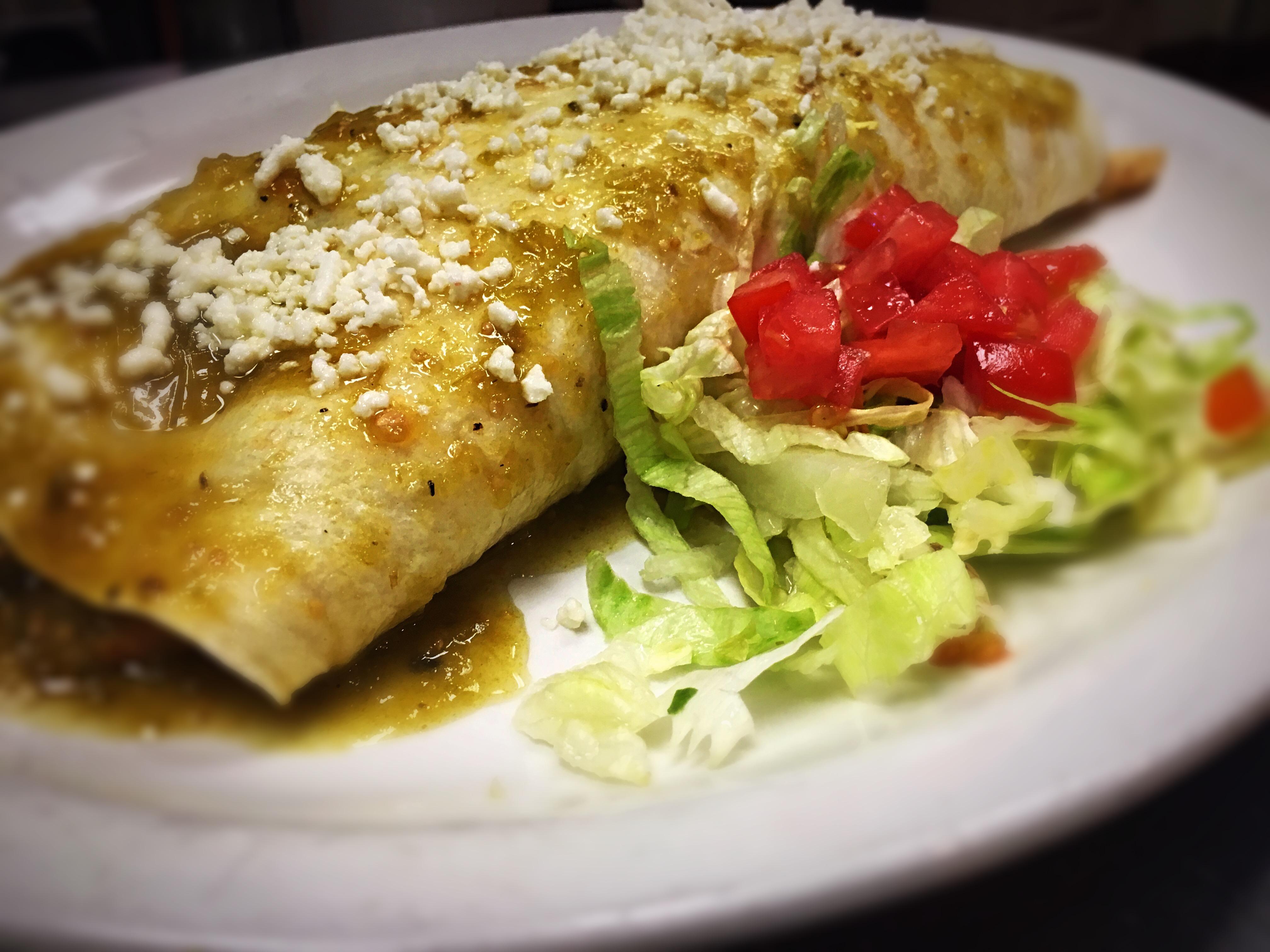 Mexican Style Burrito