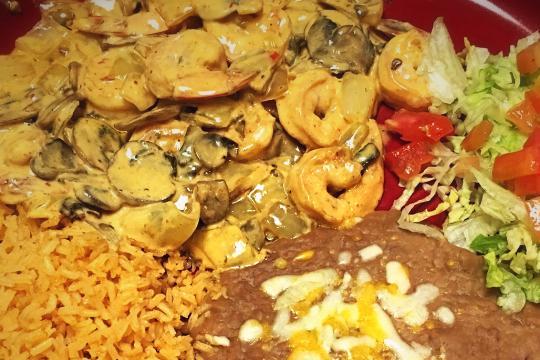 Camarones Al Chipotle