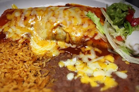 Fajita Burrito