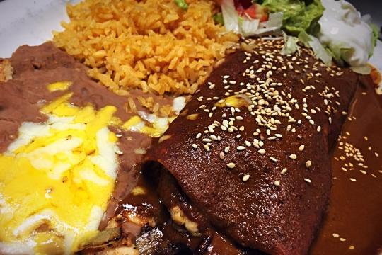 Mole Burrito
